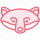animal, fox, zoo icon