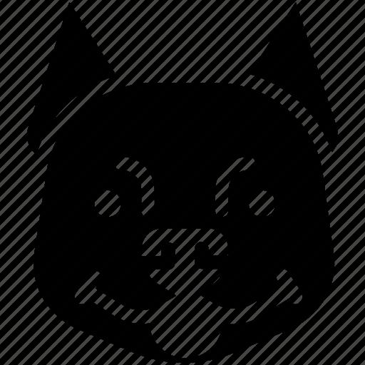 animal, dog, pitbull, zoo icon