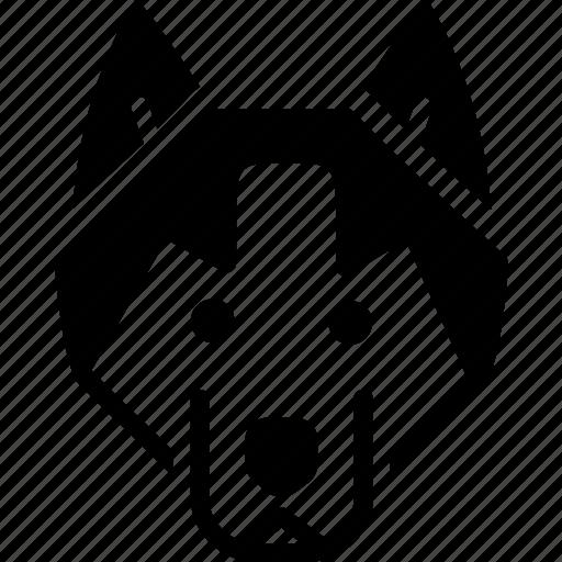 animal, dog, wolf, zoo icon