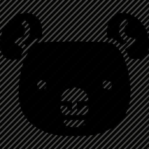 animal, koala, zoo icon