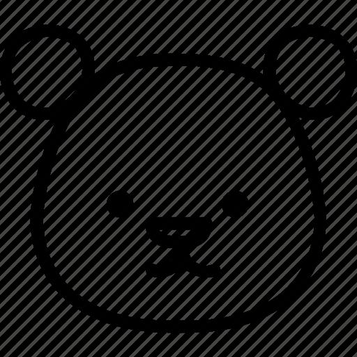 animal, bear, littlebear, zoo icon