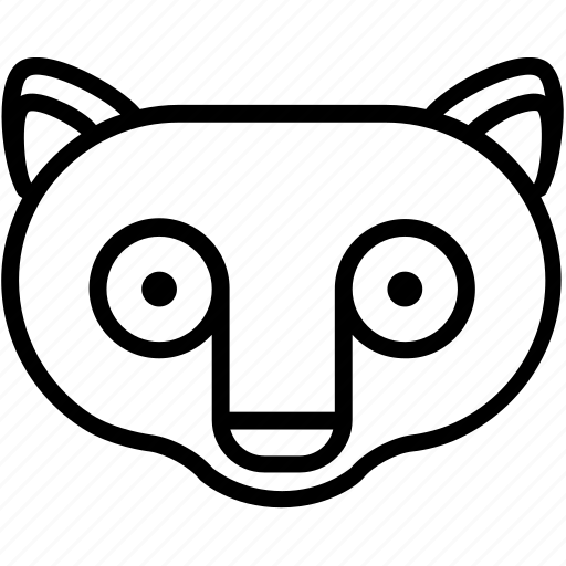 animal, tarsier, zoo icon