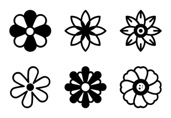Flower Character Symbol