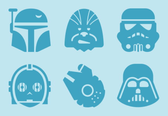 Star Wars icons by Symbolicons