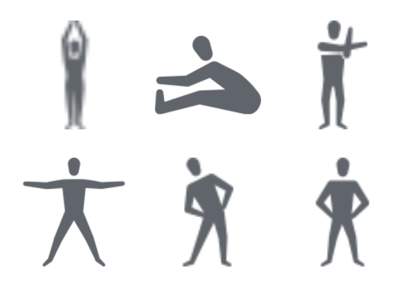 Warm Up Amp Cool Down Exercise 02 Icons By Nanmulti Sanhawan