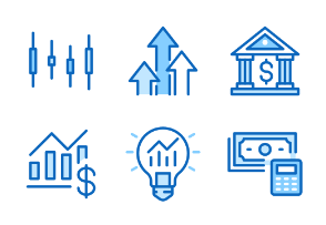 30px: Investments - Blue Line
