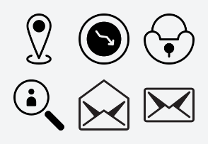 Ad Network Icon (Line with Fill) Set 3