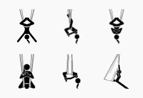 Aerial yoga