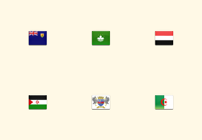 All-in-One Country Flag