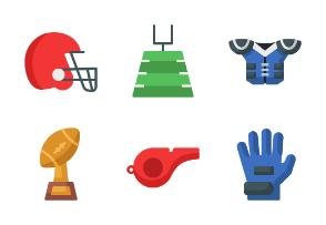 American Football (Flat)