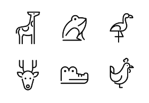 Animal Outline - Minimal