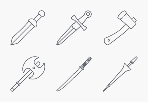 Arms and Armor outlines