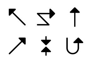 Arrows Ver. 3 (Glyph 32 px)