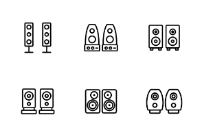 Audio Music Speakers