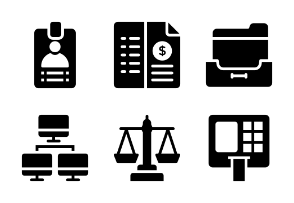Banking and Finance Glyphs vol 3