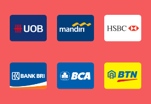 Banks in Indonesia Logo Badge