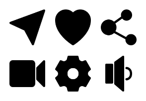 Basic for ui/ux glyph version
