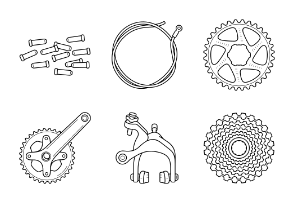 Bicycle parts, components and accessories 2