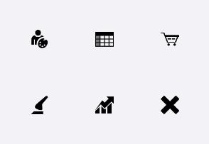 Black 48x48 Icons