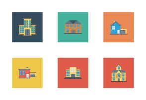 Buildings Flat Square vol 3