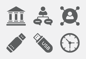 Business and Office Glyphs vol 6
