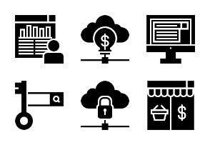 Business and Web Glyph 2