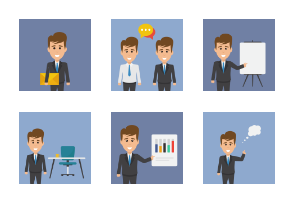 Business Concept Ideas Characters