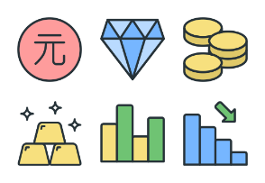 Business & Finance - Color Icons