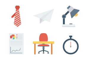 Business Flat Icons Vol 2
