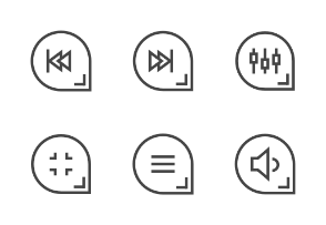 Buttons Multimedia