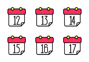 Calendar Filled Line