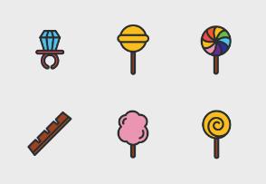 Candyland (Line & Colour)