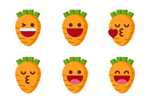 Carrot Emoticons