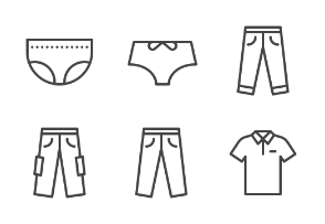iOS icons - Clothes