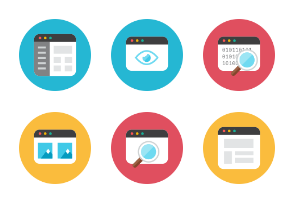 Coding Files Icons - Rounded