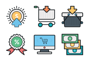 Colored Vector Icons 1
