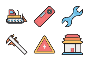 Colored Vector Icons 11