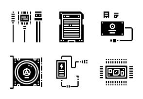 Computer hardware Glyph