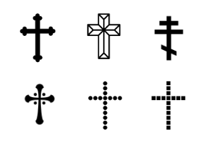 Crosses, X marks & Plus signs