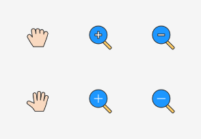 Css Cursors - Colored