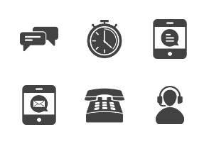 Customer Services Glyph