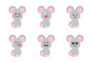 Cute mice reactions