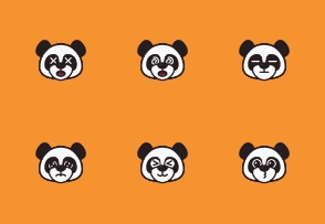 Cute Panda Emoticon