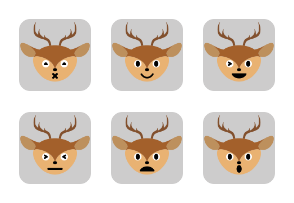 Deer Set Volume 1