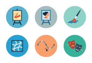Design Flat Icons Vol 1