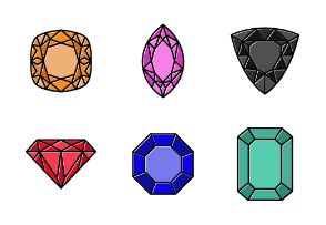 Diamond Colorful