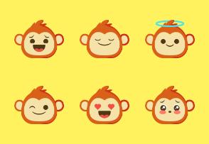 Dompicon Monkeymoji