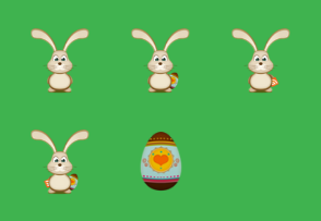 Bunny and Easter Egg