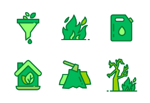 Ecology and Environment vector illustration