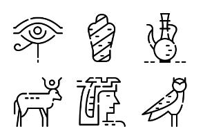 Egypt outline